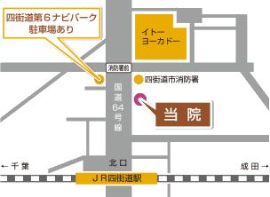 ガルーダ整骨院鍼灸院の地図