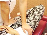産後矯正施術写真